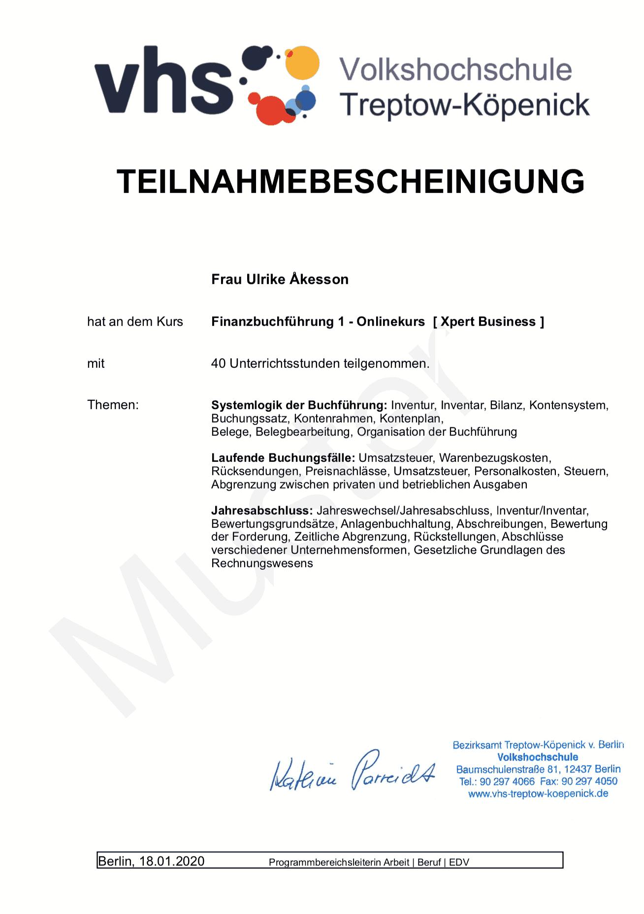 Fibu Zertifikat